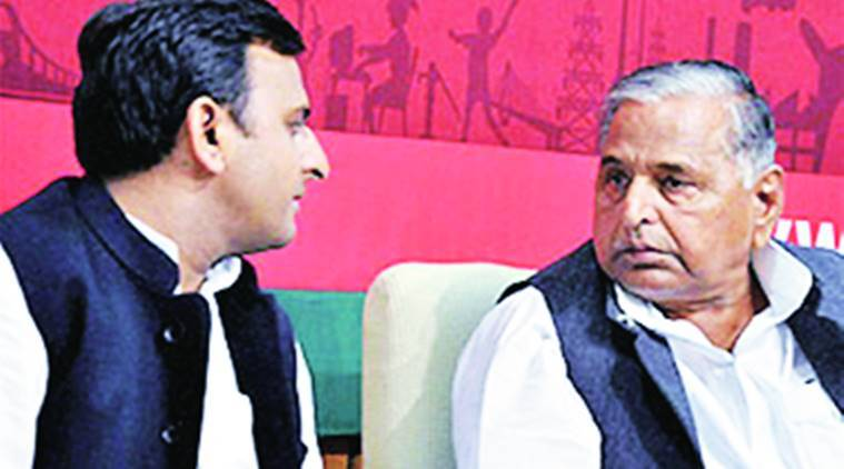 Mulayam Singh Yadav, Akhilesh Yadav, Uttar Pradesh elections, Congress and SP alliance, UP News, Shivpal yadav, Indian express news, India news