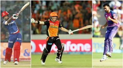 Century and hat-trick heros of IPL 2017