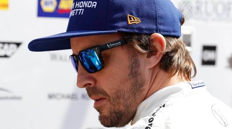 fernando alonso, indy car 500, fernando alonso indy car 500, fernando alonso formula one, formula 1, f1, formula one fernando alonso, sports news, indian express