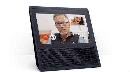 Amazon Echo Show, Amazon, Amazon Echo Show specs, Amazon Echo Show features, Amazon Echo speaker, Amazon Echo Show smart speaker, Amazon Echo Show Alexa, Amazon Echo Show launched, Amazon Echo Show price, Amazon Echo, Amazon Echo Show touchscreen, Google Home, Apple smart speaker, Harman Kardon Invoke, Amazon Alexa, voice controlled speakers, technology, technology news