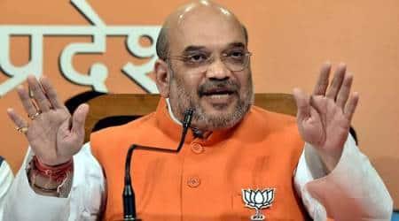 Amit Shah, Amit Shah Gujarat visit, BJP targets Gujarat tribal voters, Gujarat Assembly elections