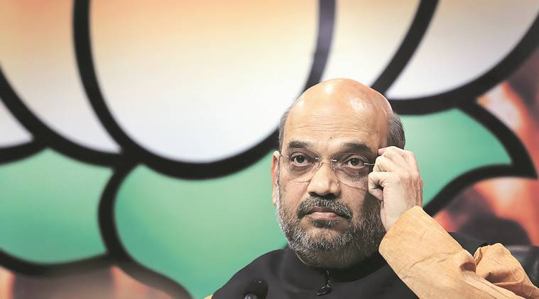 amit shah, BJP amit shah, BJP, lok sabha elections, 2019 elections, general elections, 2019 Lok Sabha poll, indian express news, india news