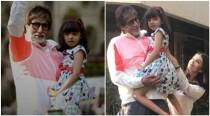 Aishwarya Rai Bachchan, Aaradhya join Amitabh Bachchan for Sunday darshan but Aaradhya is 'a little afraid'