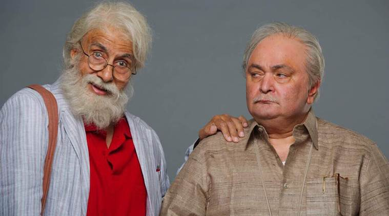 Amitabh Bachchan, Rishi Kapoor, 102 Not Out, 102 Not Out Amitabh Bachchan Rishi Kapoor looks, Amitabh Bachchan Rishi Kapoor old look, 102 Not Out first looks, 102 Not Out cast