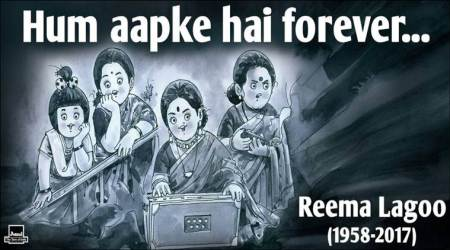Bollywood's much loved 'Ma': Amul's heartfelt tribute to Reema Lagoo celebrates her versatility