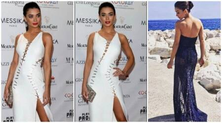Amy Jackson, Amy Jackson cannes 2017 day 4 pics, Amy Jackson cannes 2017 day 4 looks,