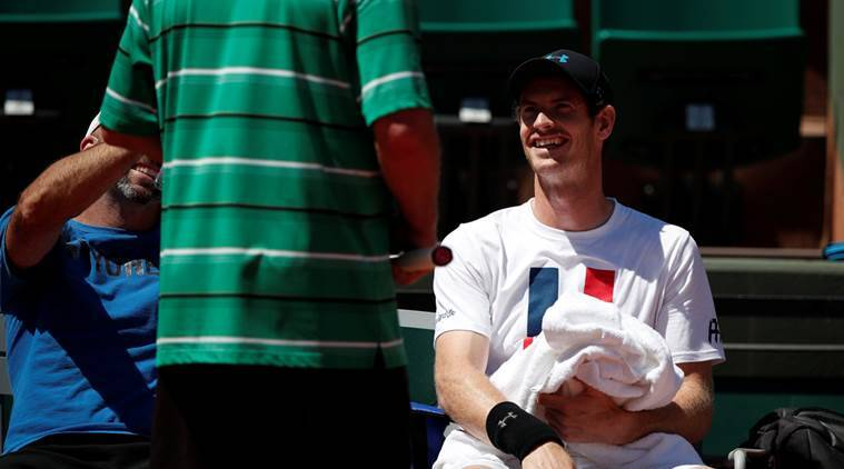 french open, french open 2017, andy murray, roland garros, tennis news, sports news, indian express