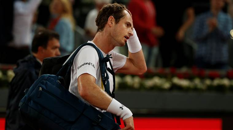 Andy Murray, Andy Murray news, Andy Murray updates, Andy Murray matches, Andy Murray Madrid Open, sports news, sports, tennis news, Tennis, Indian Express