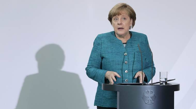 Germany's goal is coalition talks says Chancellor Angela Merkel