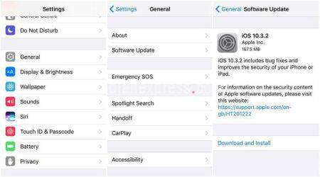 Apple, iOS 10.3.2, Apple iOS 10.3.2, iPhone, iPhone update, iOS 10.3.2 how to download, iPod, iOS 10.3.2 features, technology, technology news
