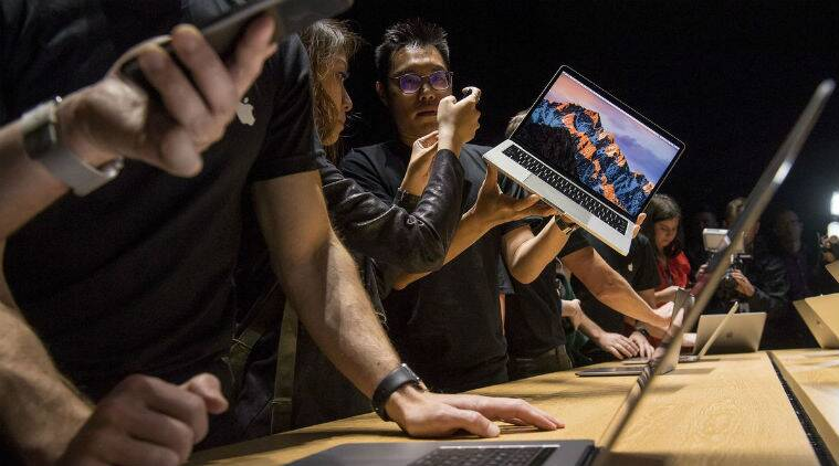 Apple Inc, Microsoft Corp, iPad, MacBook Pro, Kaby Lake processor, Macbook, Macbook Air, Apple, Intel, Mac lineup, iPhone,iPhone maker, Microsoft Corp, Surface laptop debut, Apple notebook lineup, Macbook Air, MacbookPro features, Apple Pay,Mac software upgrades, Technology, Technology news