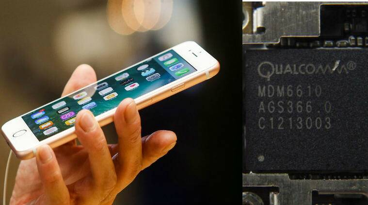 Apple, Qualcomm, Apple vs Qualcomm, Apple Qualcomm dispute, Apple Qualcomm case, Foxconn, iPhone Samsung technology, technology news
