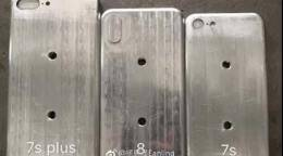 Apple iPhone 7s, iPhone 7s Plus and iPhone 8 moulds leaked online