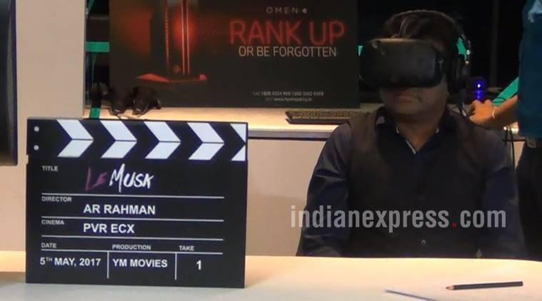 ar rahman movie debut, movie debut ar rahman, ar rahman images, ar rahman news, ar rahman vr set