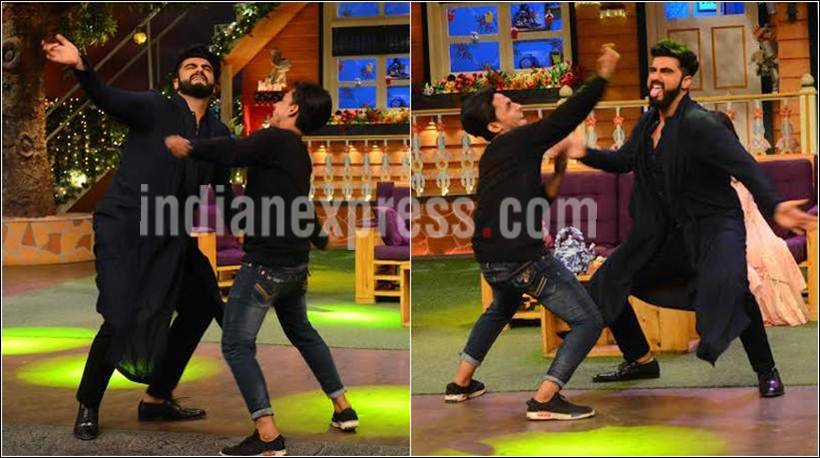 half girlfriend, arjun kapoor, shraddha kapoor, kapil sharma, the kapil sharma show