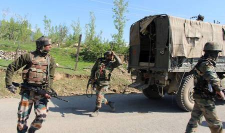 J-K: Two militants killed, two soldiers martyred as Army foils infiltrationbid