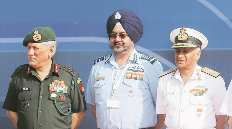 Defence ministry, integrated defence, integrated army, integrated Indian forces, integrated theatre command, Army Navy IAF, Indian Express, India news