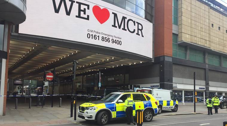 Manchester's Arndale shopping center evacuated, witnesses heard