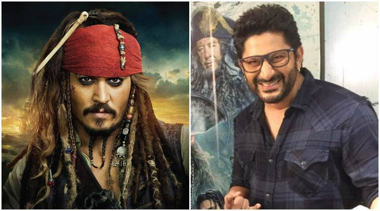 Arshad Warsi, Pirates of the Caribbean, Johnny Depp, Pirates of the Caribbean 5, Jack Sparrow