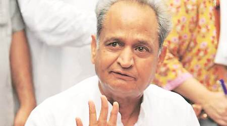 Ashok Gehlot unimpressed with Vasundhara Raje's completion of 4 years in office