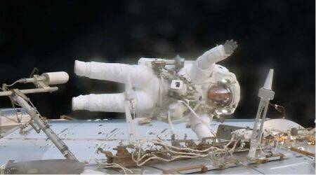 NASA, International Space Station, emergency spacewalk, orbital outpost, Peggy Whitson, Jack Fischer, MDM failure,multiplexer-demultiplexer, ISS programme, Exepedition 39 crewmembers, Science, Science news