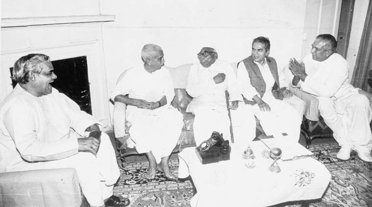 In Invoking Limaye, Search For Unity, Relevance Against A Rampaging Bjp  The Indian -9833