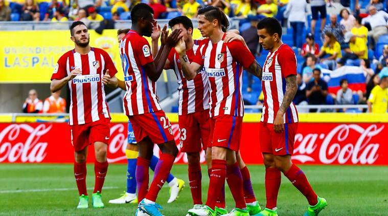 Atletico's Gimenez to miss Champions League semifinals