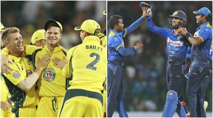 Image result for Australia vs Sri Lanka, Live ICC Champions Trophy Warm-up match: Sri
