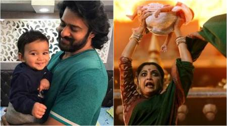 Baahubali 2: Baby who played Mahendra Baahubali is actually a girl. There's something about this viral pic of Prabhastoo