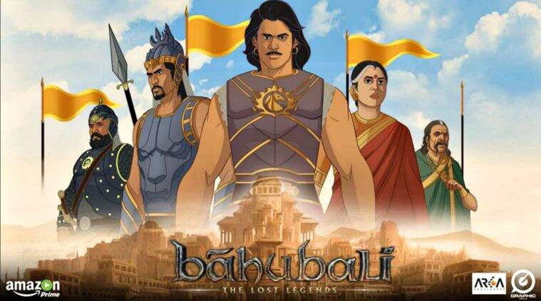 Baahubali, Baahubali tv series, baahubali the lost legends, baahubali colors,