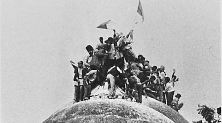 babri masjid case, babri masjid, shia waqf board, babri demolition case, india news, indian express news
