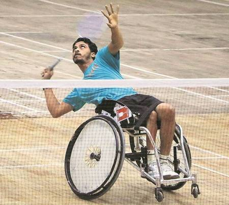 After funding tournament trip in Uganda, para badminton player returns with gold