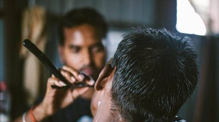 Valmikis haircuts, Barbers, Fatehpur Shamshoi village, Lucknow Valmikis haircuts, Indian Express, Indian Express News