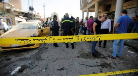 At least 27 people killed in twin bombings in Baghdad