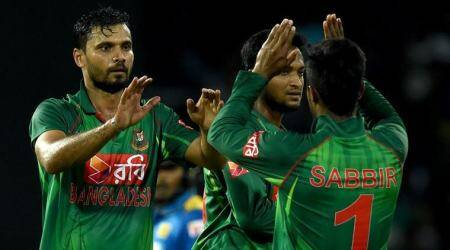 Mashrafe Mortaza looks positive after eight-wicket win over Ireland