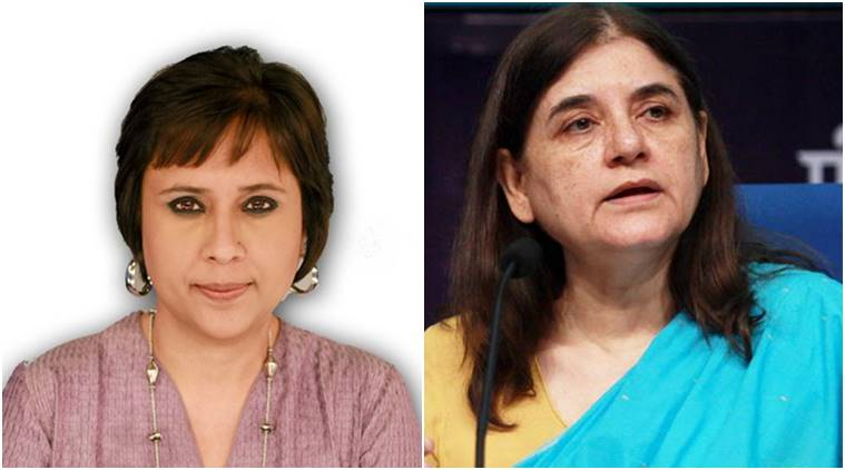 world press freedom day, sweden embassy event, barkha dutt, maneka gandhi, swati chaturvedi, sweden embassy event cancelled, online trolling, online trolls, indian express, india news