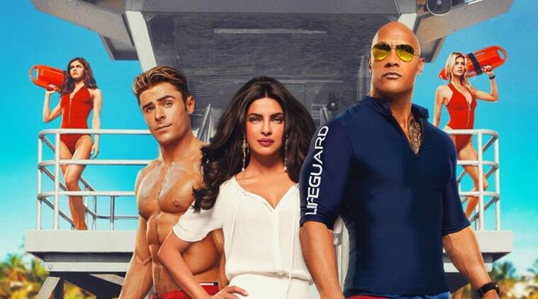 Baywatch, zac efron, priyanka chopra, Dwayne Johnson, baywatch review, baywatch