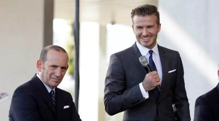 david beckham, beckham, US Soccer Hall of Fame, la galaxy, Steve Cherundolo, Pablo Mastroeni, american soccer, sports news, indian express