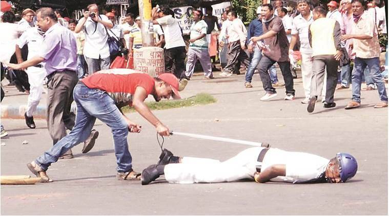 In Kolkata, Left parties march to secretariat turns violent