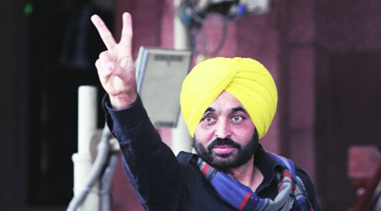 Punjab: Five booked for protest against Bhagwant Mann