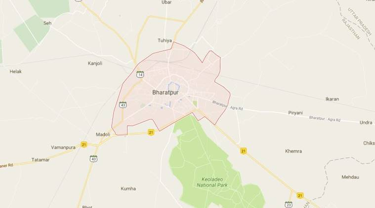 Bharatpur wall collapse, Bharatpur, Bharatpur news, Rajasthan wall collapse, Bharatpur marriage hall wall collapse, Indian Express, India news