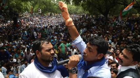 Saharanpur violence: On the run, Bhim Army chief appears at Jantar Mantar, says will surrender