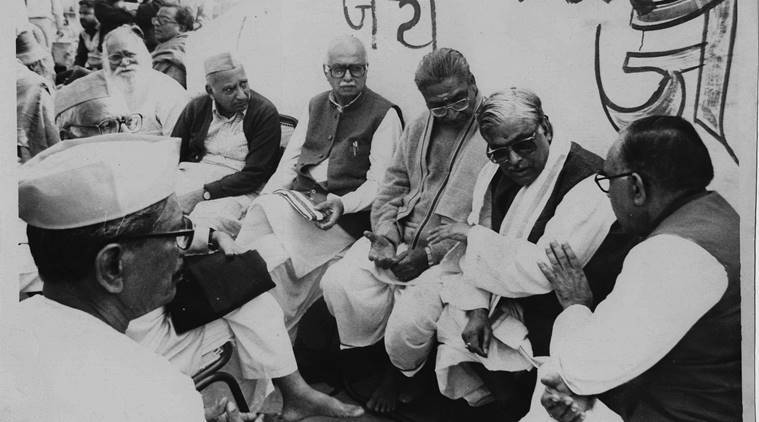 BJP's L demolition K Masjid Advani, Babri  case: Manohar