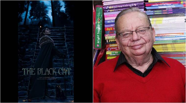 Ruskin bond, ruskin bond books, best selling book in india, review of ruskin latest book, ruskin bond latest book, The Black Cat, Ruskin's film, reading, best author, latest book, indian express, indian express news