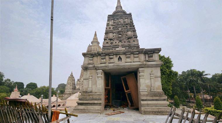 bodh gaya temple, bodh gaya temple blast, bodh gaya temple security, india news, latest news, indian express