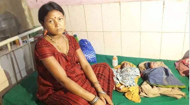 Bonda Woman Adibari Namni, Adibari Namni, Bonda Woman Adibari Namni C-section delivery, Adibari Namni C-section delivery, Malkangiri hospital, Odisha News, Indian Express, Indian Express News