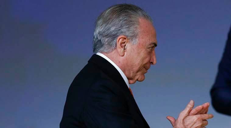 Brazil Supreme Court, Brazil Court, Brazil President Michel Temer, Michel Temer, Brazil President, Brazil, World News, Latest World News, Indian Express, Indian Express News