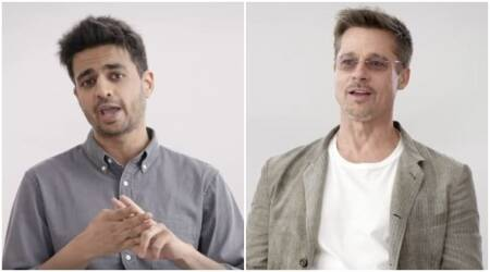 One thing that Rohan Joshi can do but Brad Pitt can't, here is the Hollywood actor'sconfession