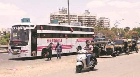 bhumkar chowk, pune auto drivers, wakad auto rickshaws, bhumkar chowk wakad, indian express