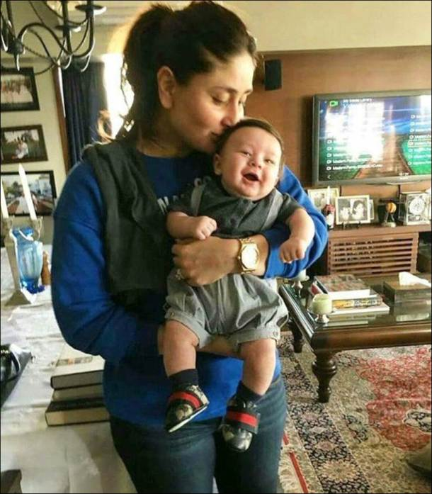 kareena kapoor, kareena kapoor taimur photos, taimut ali khan cute photos